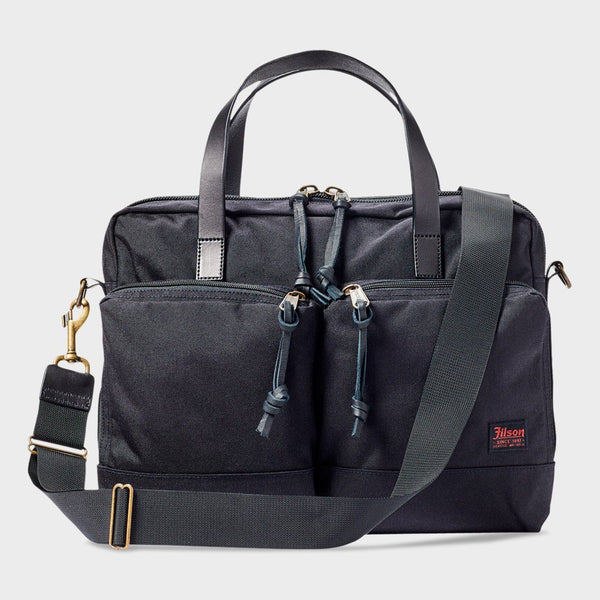 product: Filson Dryden Briefcase Dark Navy