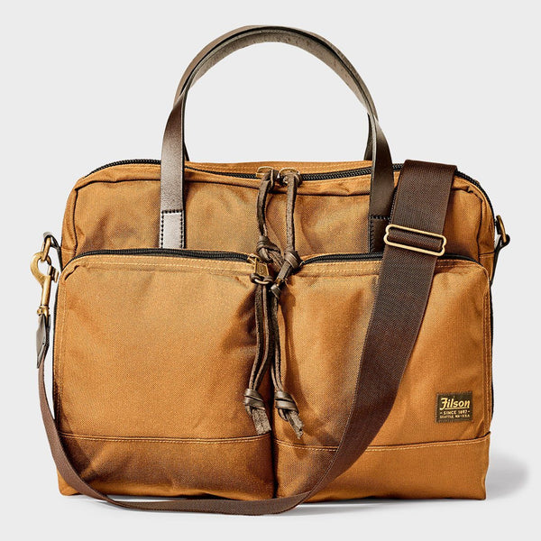 product: Filson Dryden Briefcase Whiskey