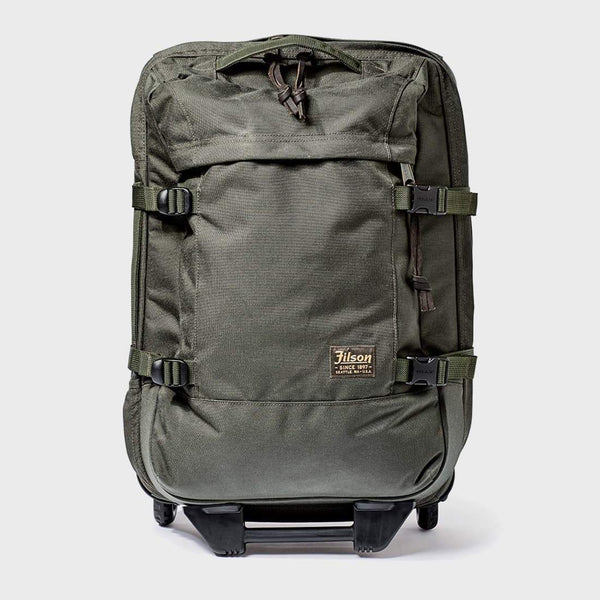 product: Filson Dryden 2-Wheel Carry-On Otter Green