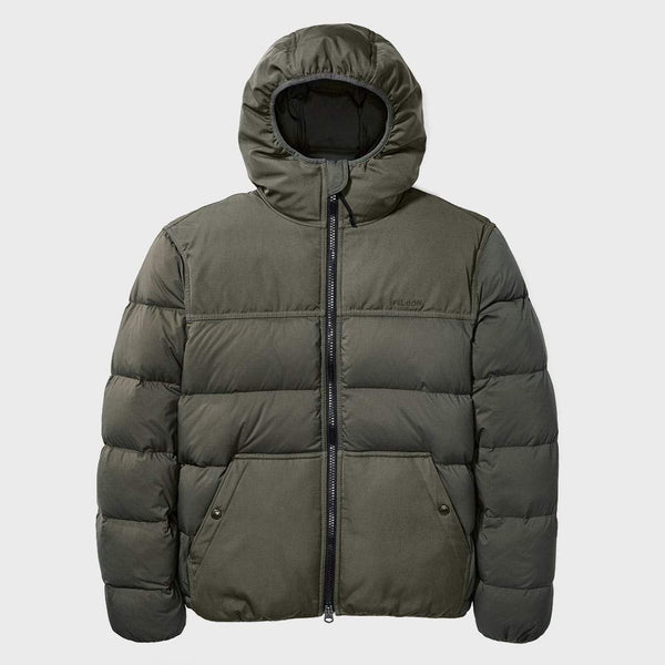 product: Filson Featherweight Down Jacket Otter Green