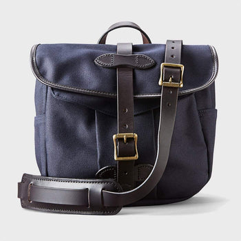 product: Filson Field Bag Small Navy