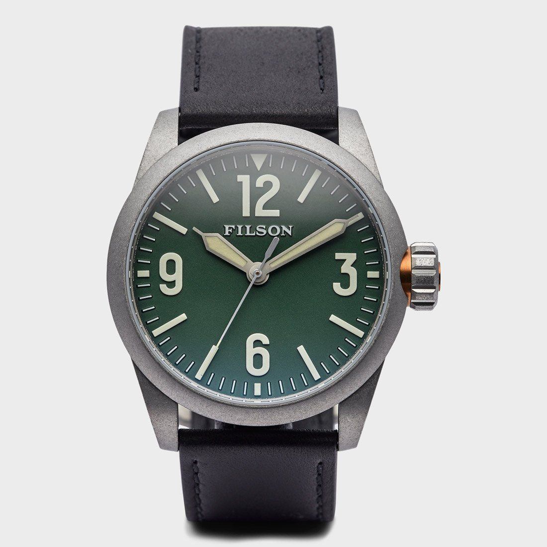 Filson Field Watch Hunter Green
