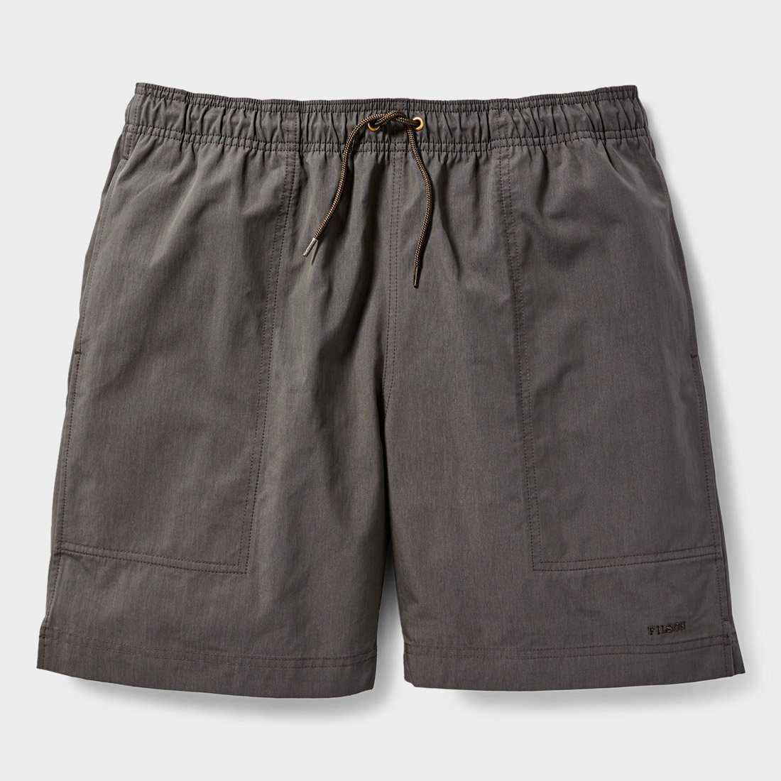 Filson Green River Water Shorts Charcoal