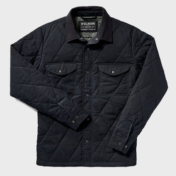 product: Filson Hyder Quilted Jac-Shirt Faded Navy
