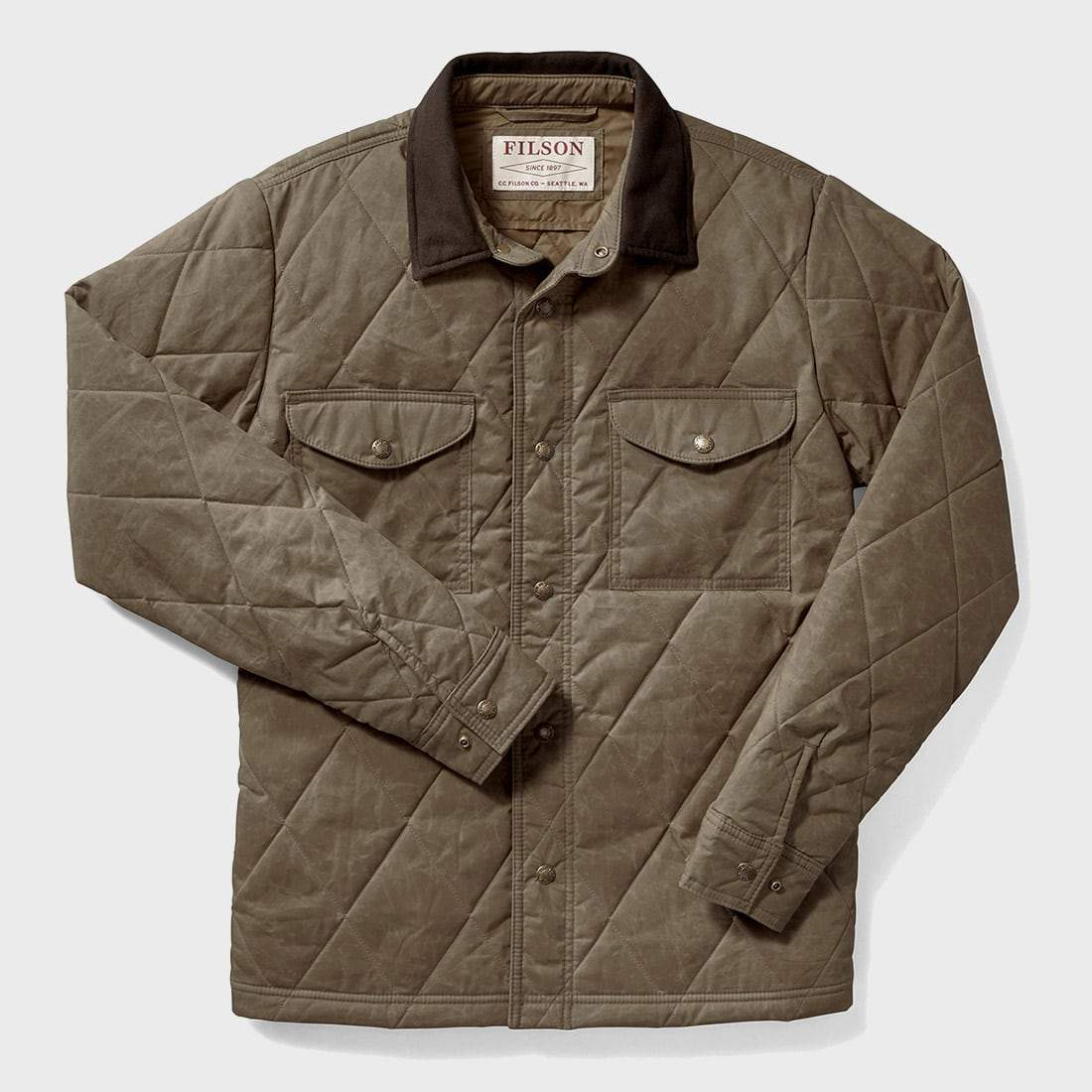 Filson Hyder Quilted Jac-Shirt Tan