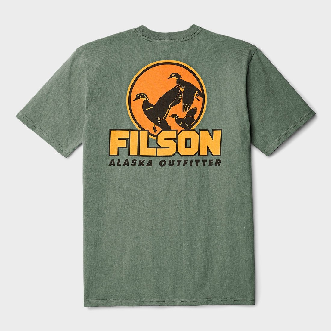 Filson Outfitter Graphic T-Shirt Service Green