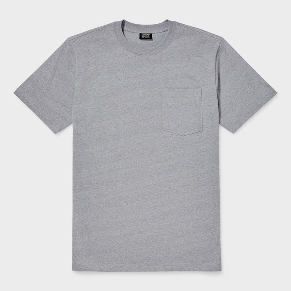 Filson Outfitter Solid One Pocket T-Shirt Grey Heather
