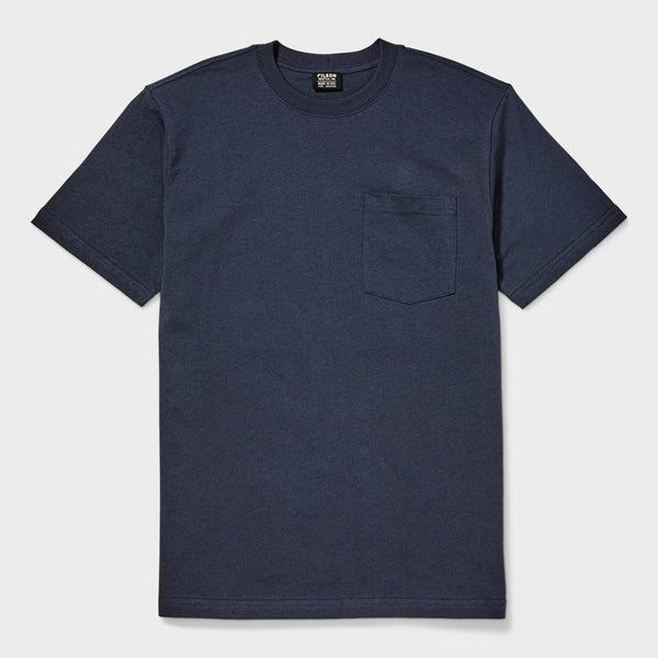 Filson Outfitter Solid One Pocket T-Shirt Navy