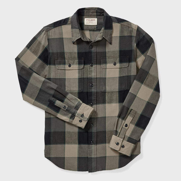product: Filson Scout Shirt Gray/ Green/ Tan Plaid