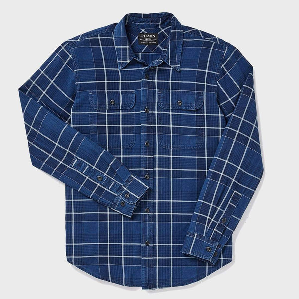 product: Filson Scout Shirt Indigo Plaid