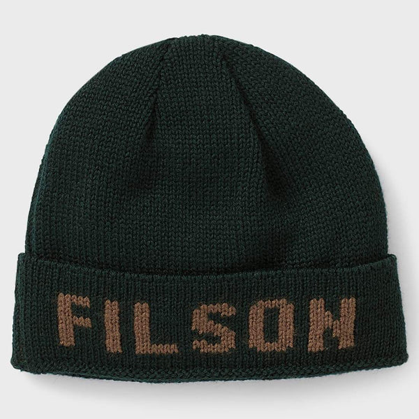 product: Filson Seattle Hat Green Brown