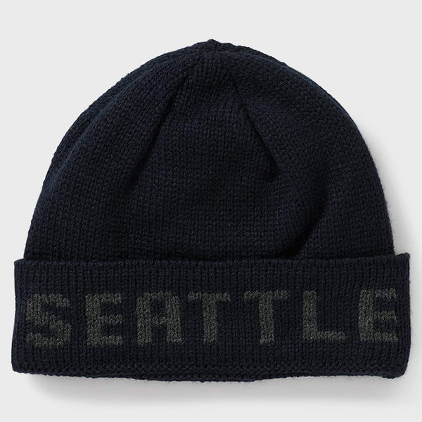product: Filson Seattle Hat Navy Gray