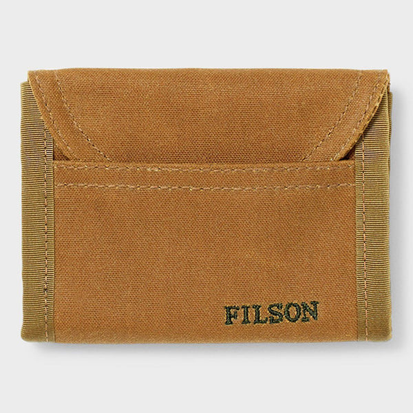 product: Filson Smokejumper Wallet Dark Brown