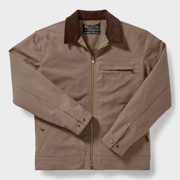 product: Filson Tacoma Work Jacket Dark Mushroom