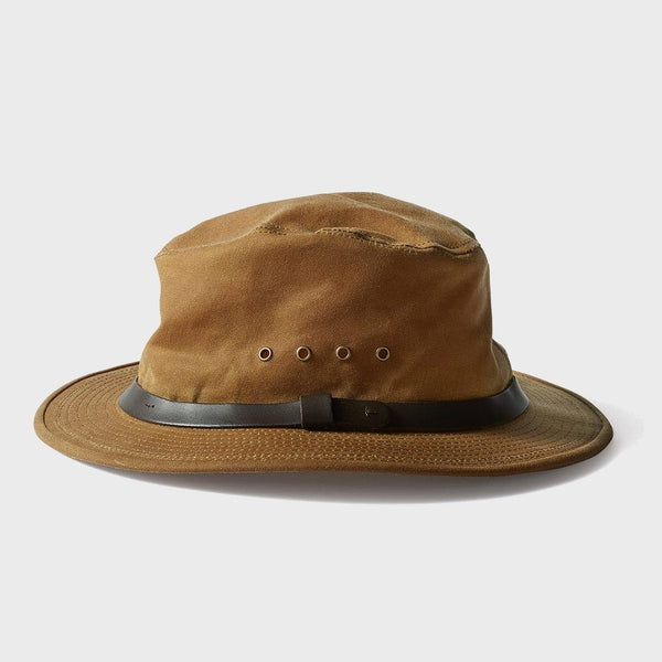 Filson Tin Packer Hat Dark Tan