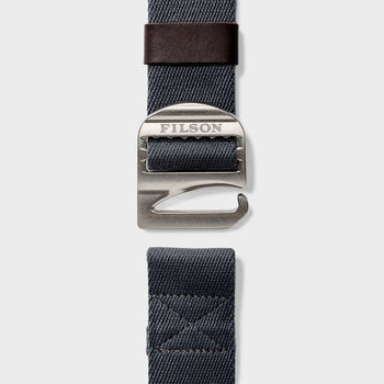 product: Filson Togiak Belt Graphite