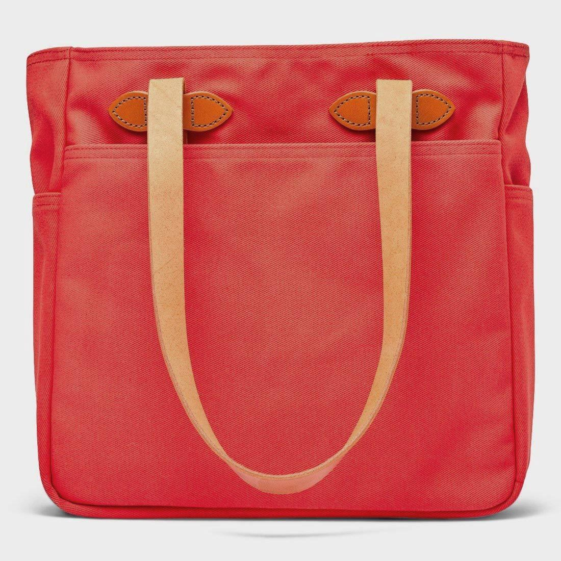 Filson Tote Bag without Zipper Mackinaw Red