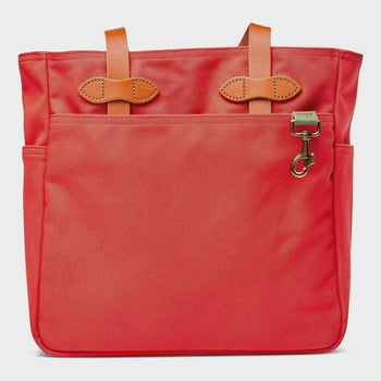 product: Filson Tote Bag without Zipper Mackinaw Red