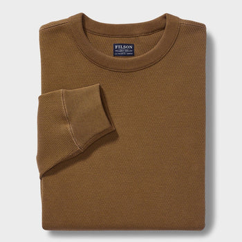 product: Filson Waffle Knit Thermal Crew Olive
