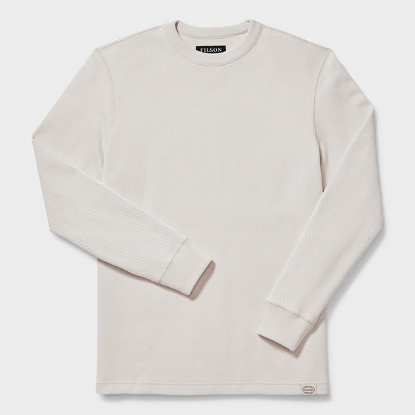 product: Filson Waffle Knit Thermal Crew Sand