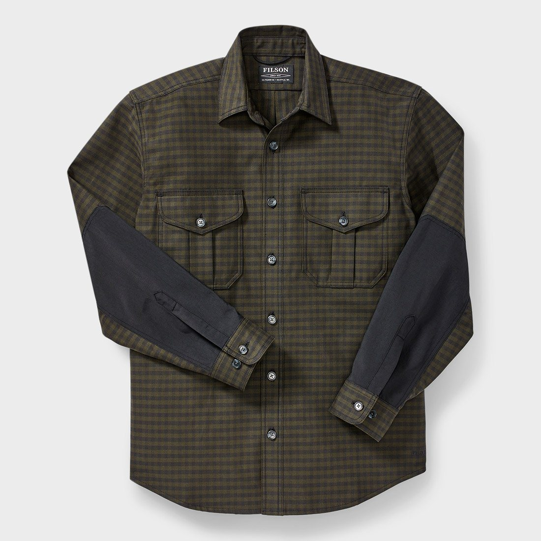 Filson Weather Worker Jac Shirt Black/ Dark Olive