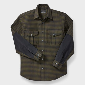 product: Filson Weather Worker Jac Shirt Black/ Dark Olive