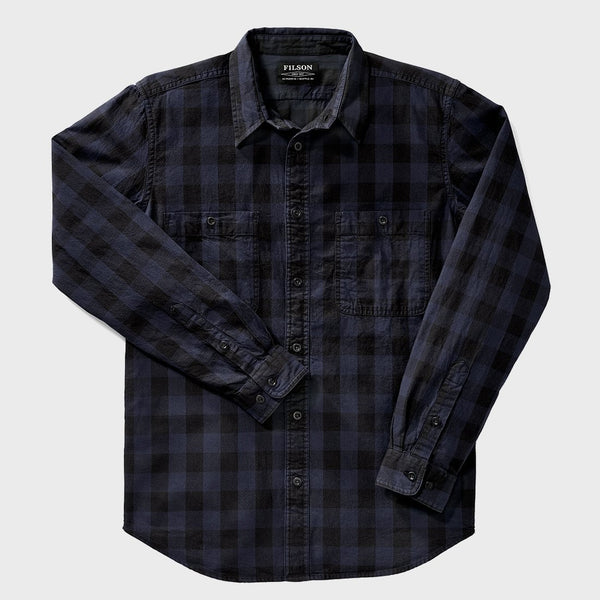 product: Filson Wildwood Shirt Navy/Black