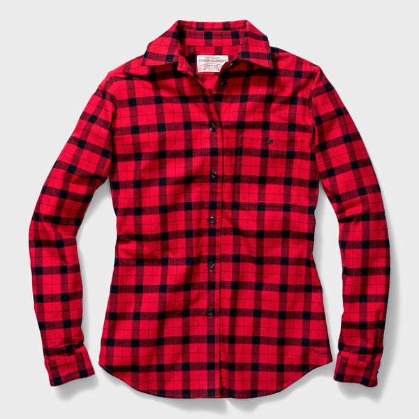 product: Filson Women's Alaskan Guide Shirt Red/Black