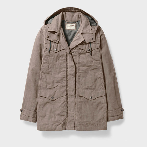 product: Filson Women's Lightweight Moorcroft Jacket Gravel Taupe