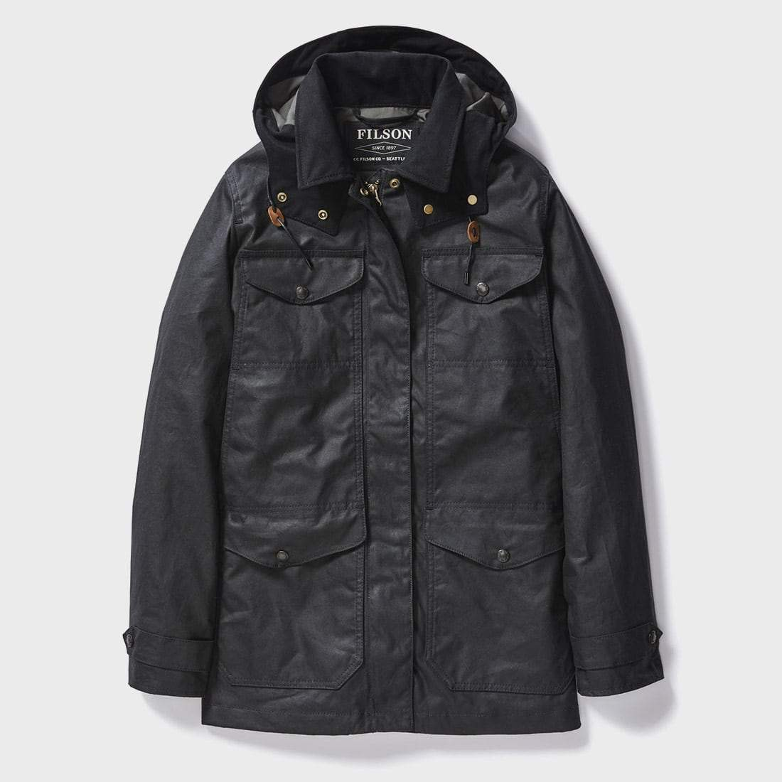 Filson Women's Moorcroft Jacket Smoke