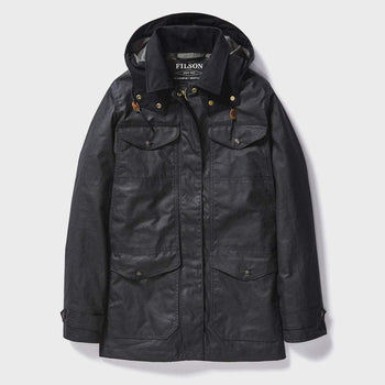 product: Filson Women's Moorcroft Jacket Smoke