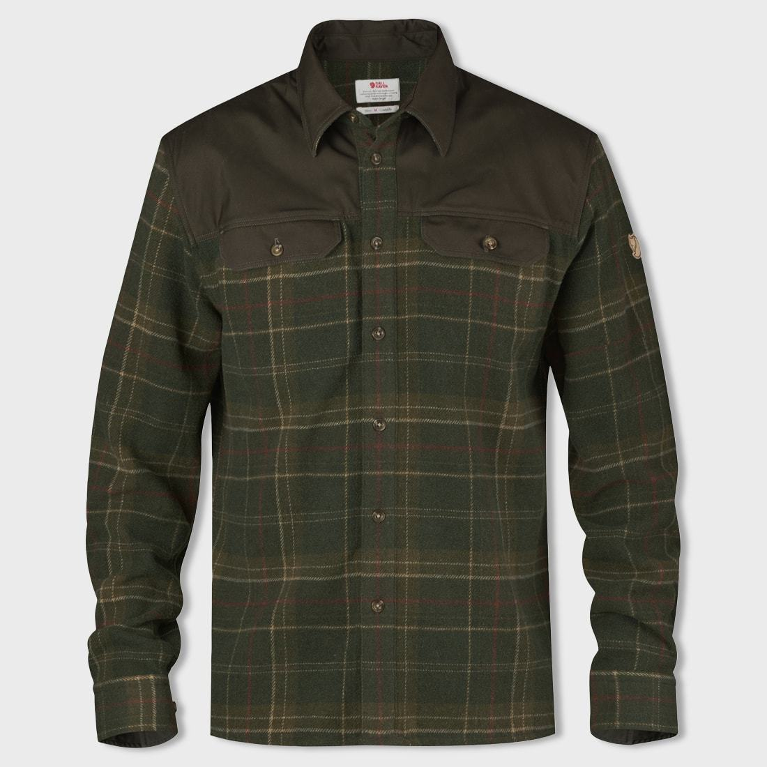 Fjallraven Granit Shirt Green / Dark Olive