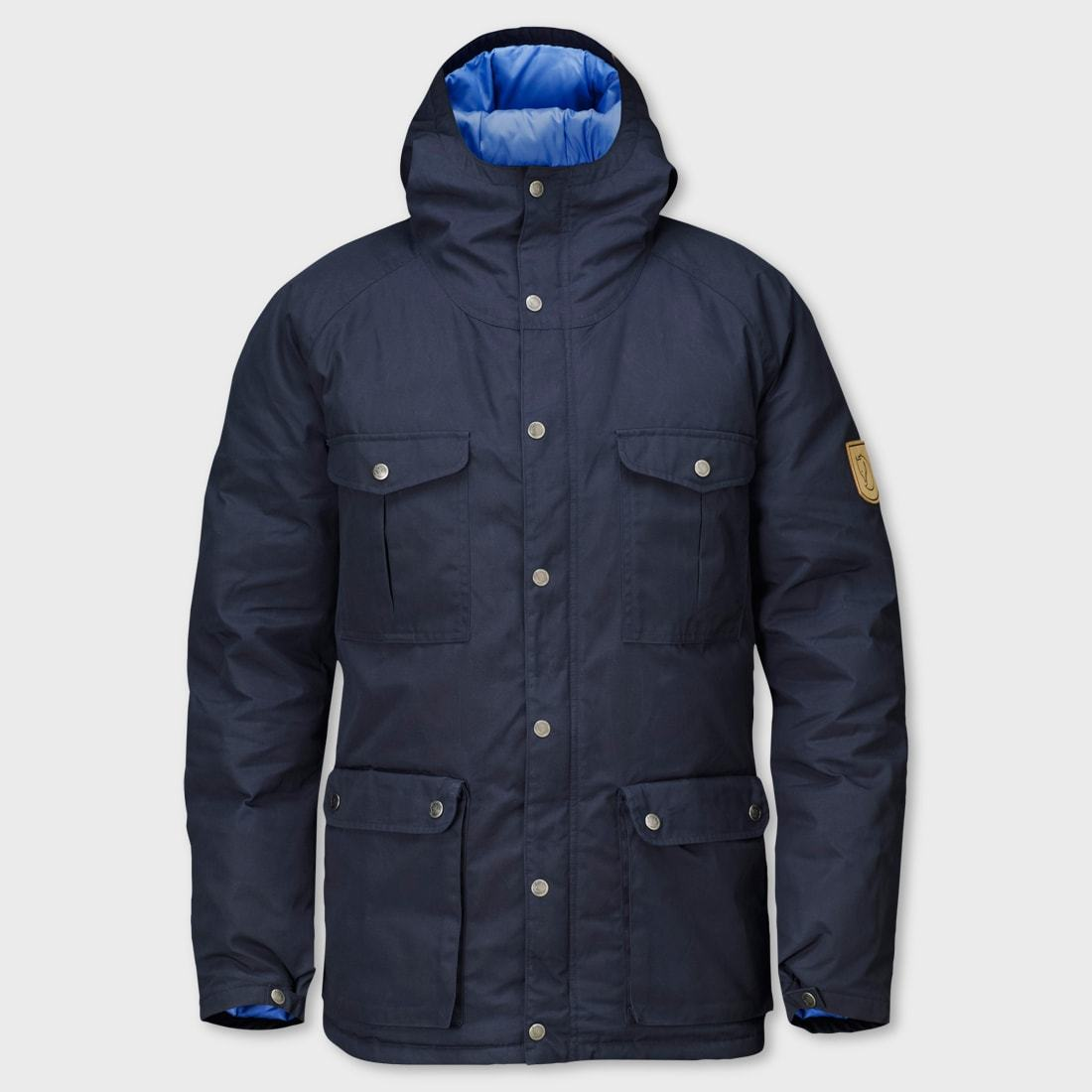 Fjallraven Greenland Down Jacket Dark Navy