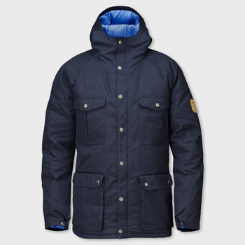 product: Fjallraven Greenland Down Jacket Dark Navy