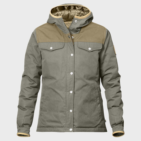 product: Fjallraven Greenland No.1 Down Jacket Women's Fog / Sand