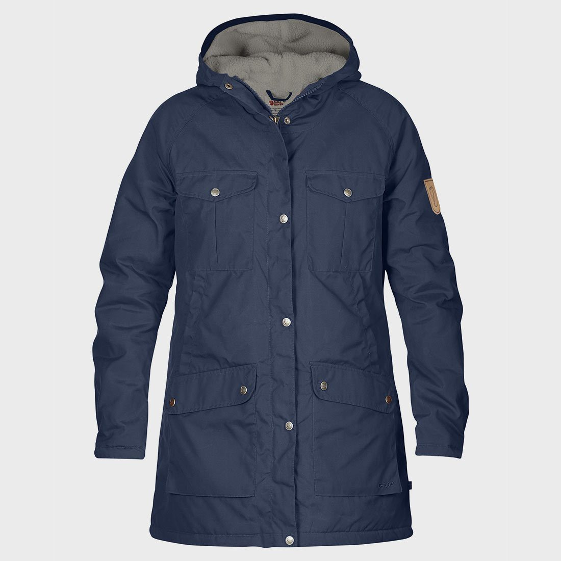 Greenland winter parka uncle blue