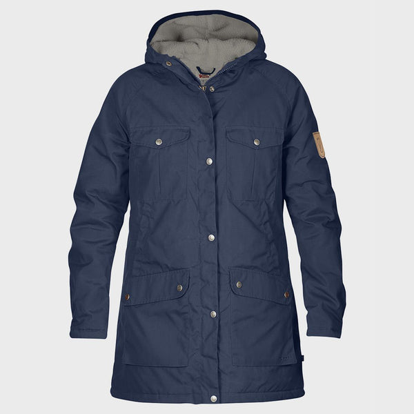 product: Fjallraven Greenland Winter Parka Women's Storm-Grey