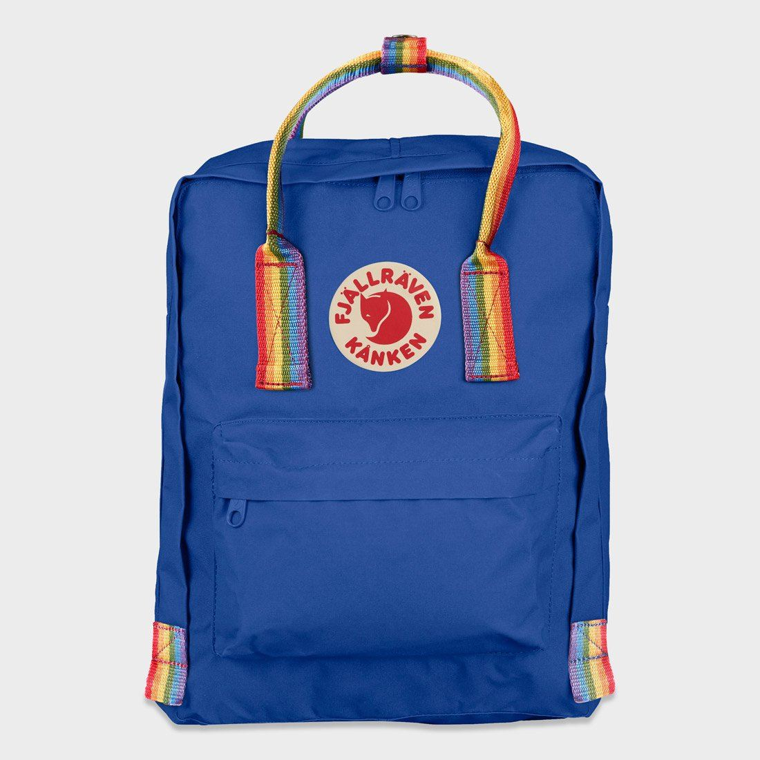 Fjallraven Kanken Rainbow Deep Blue/ Rainbow Pattern