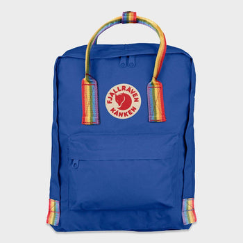 product: Fjallraven Kanken Rainbow Deep Blue/ Rainbow Pattern