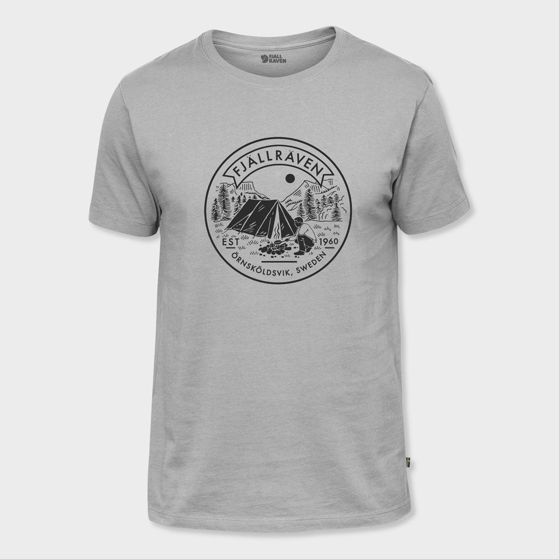 Fjallraven Lagerplats T-Shirt Grey