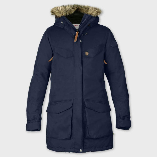 product: Fjallraven Nuuk Parka Dark Navy