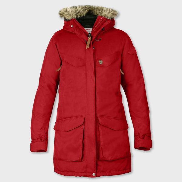 product: Fjallraven Nuuk Parka Red