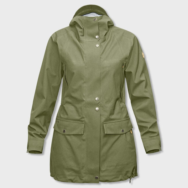 product: Fjallraven Övik Eco-Shell Parka Women's Green
