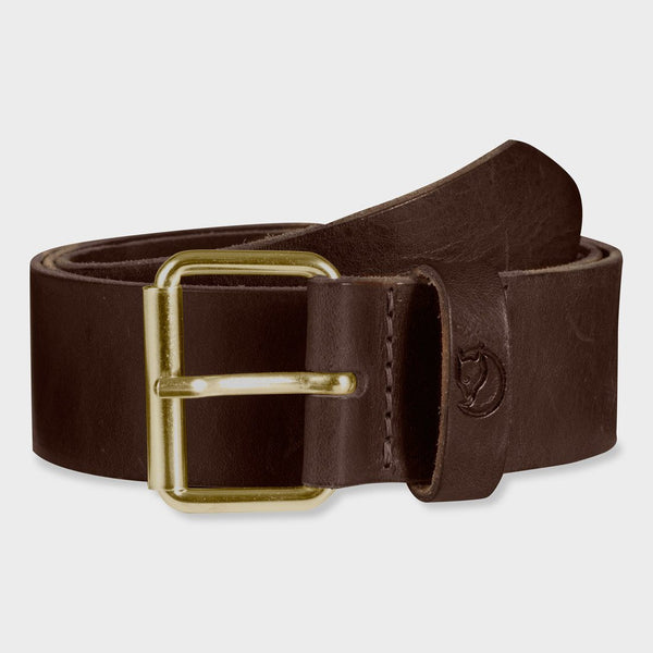 product: Fjallraven Singi 4cm Belt Brown Leather