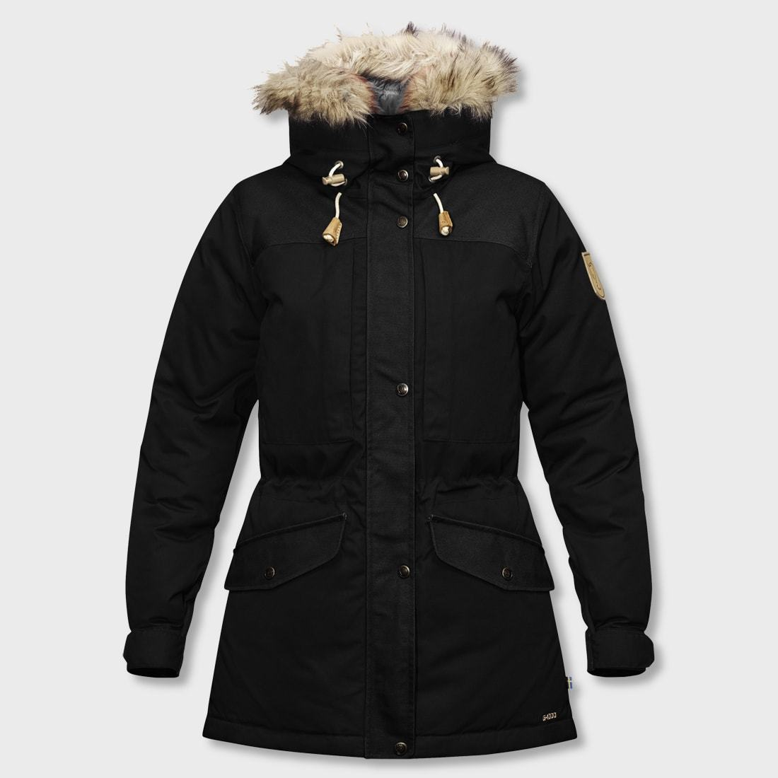 Fjallraven Singi Down Jacket Women's Black