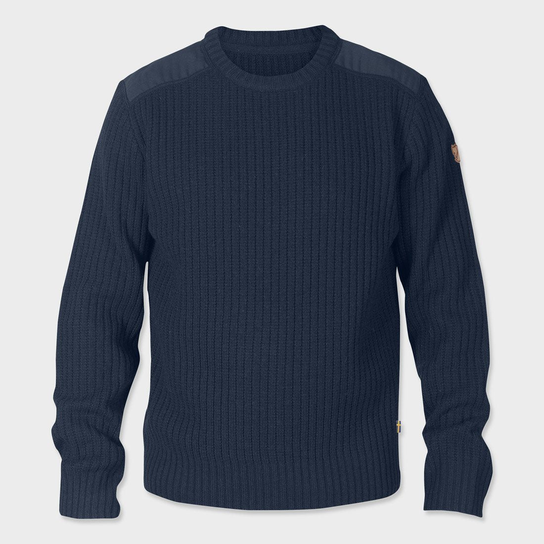 Fjallraven Singi Knit Sweater Dark Navy