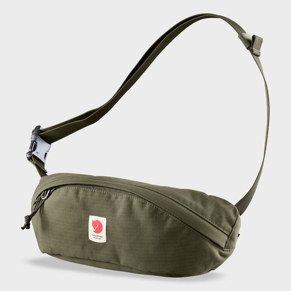 product: Fjallraven Ulvo Hip Pack Medium Laurel Green