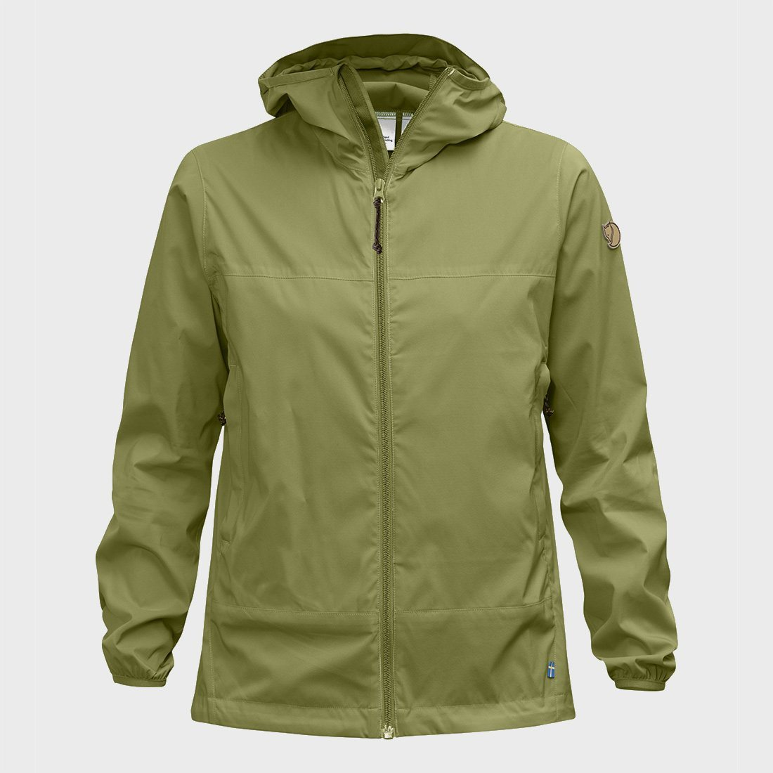 Fjallraven W Abisko Windbreaker Meadow Green