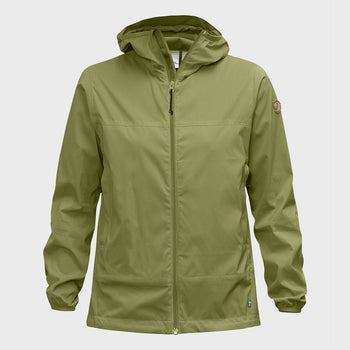 product: Fjallraven W Abisko Windbreaker Meadow Green