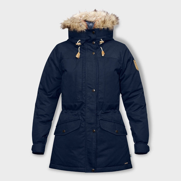product: Fjallraven Women's Singi Down Jacket Dark Navy